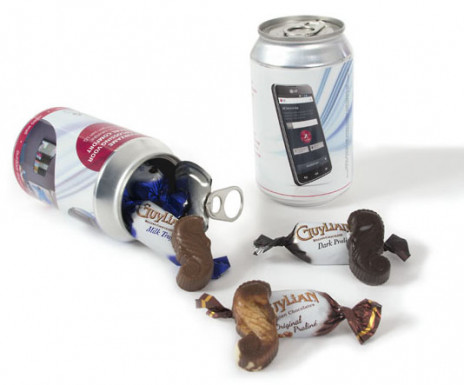 Metallic Can (chocolates)