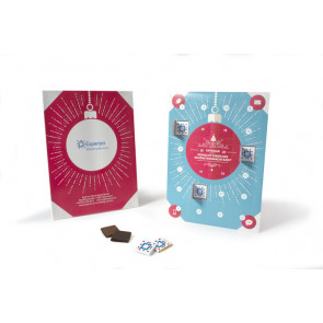 ADVENT CALENDER PERSONALISED CHOCOLATES
