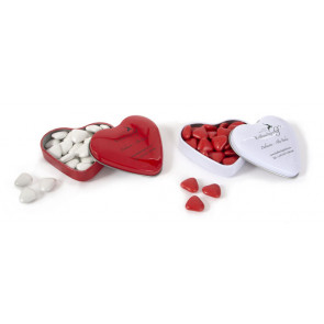 Chocolate Heart-Shaped Tin