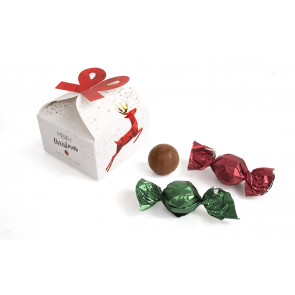 Ribbon praline box