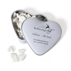 TIN HEART (medium) WITH HEART MINTS