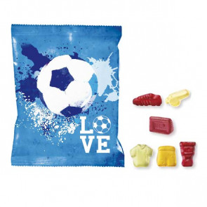JELLY SACHET - Football Shapes