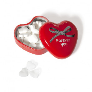 TIN HEART WITH HEART MINTS