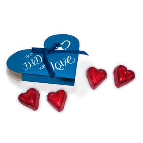 4 Heart Praline Box