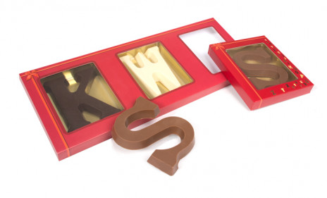TRIO Chocolate Letters