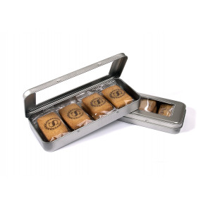 Chocolate Printed Biscuits Pencil Tin