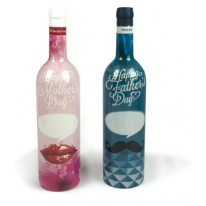 Sleeved WINE bottle