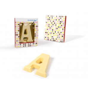 Sleeved Chocolate Letter