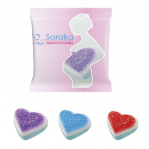 Jelly Sachet Foam Heart